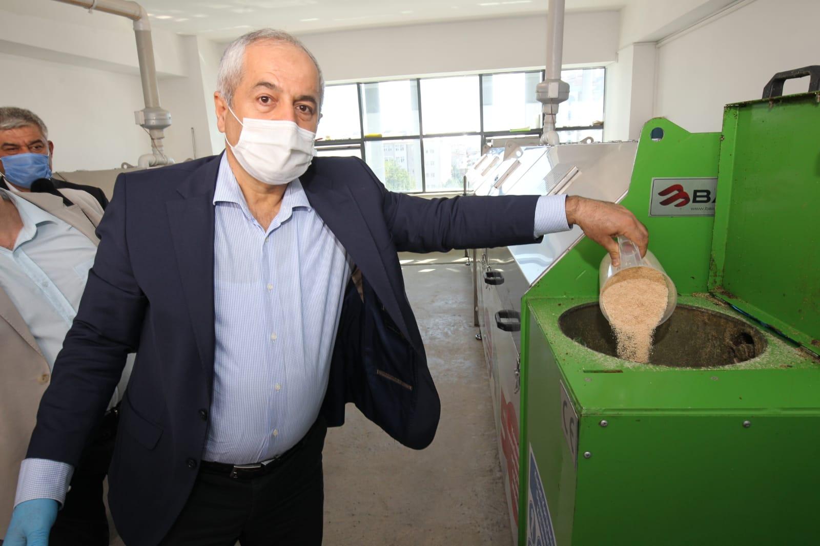 Gebze'de organik gübre üretilmeye başlandı