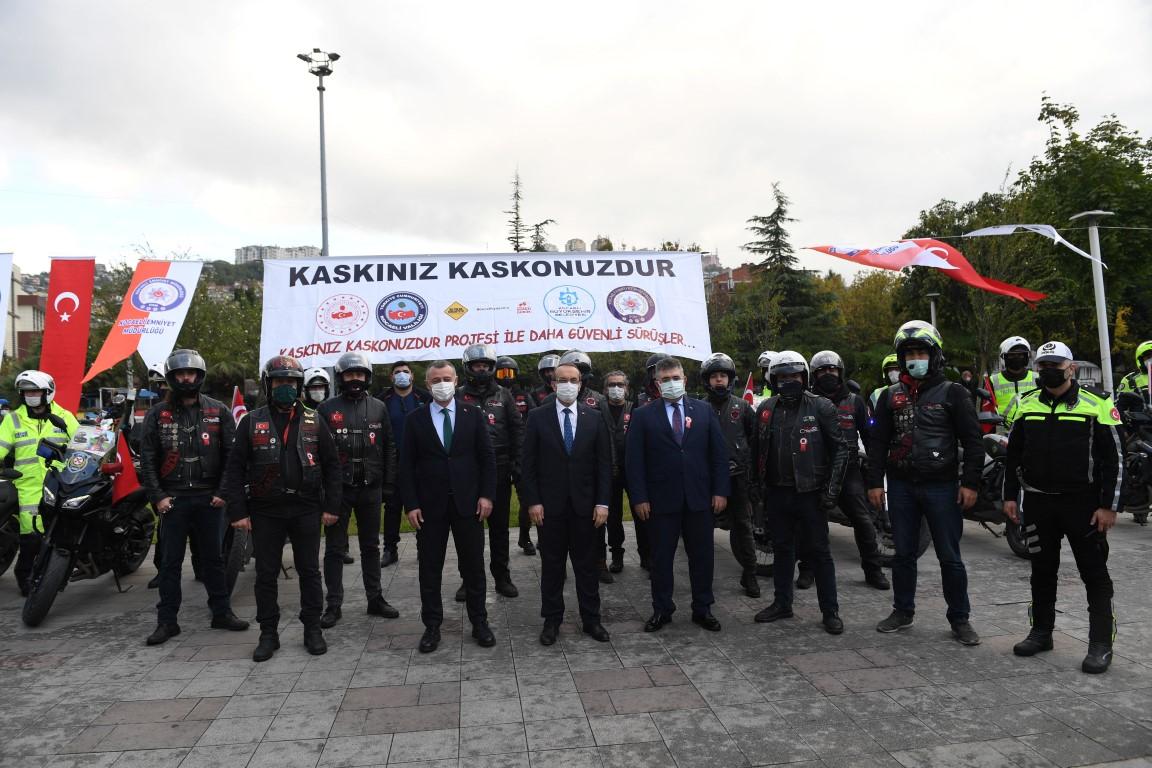 """""""Kaskınız Kaskonuzdur"""" Projesinde start verildi"""