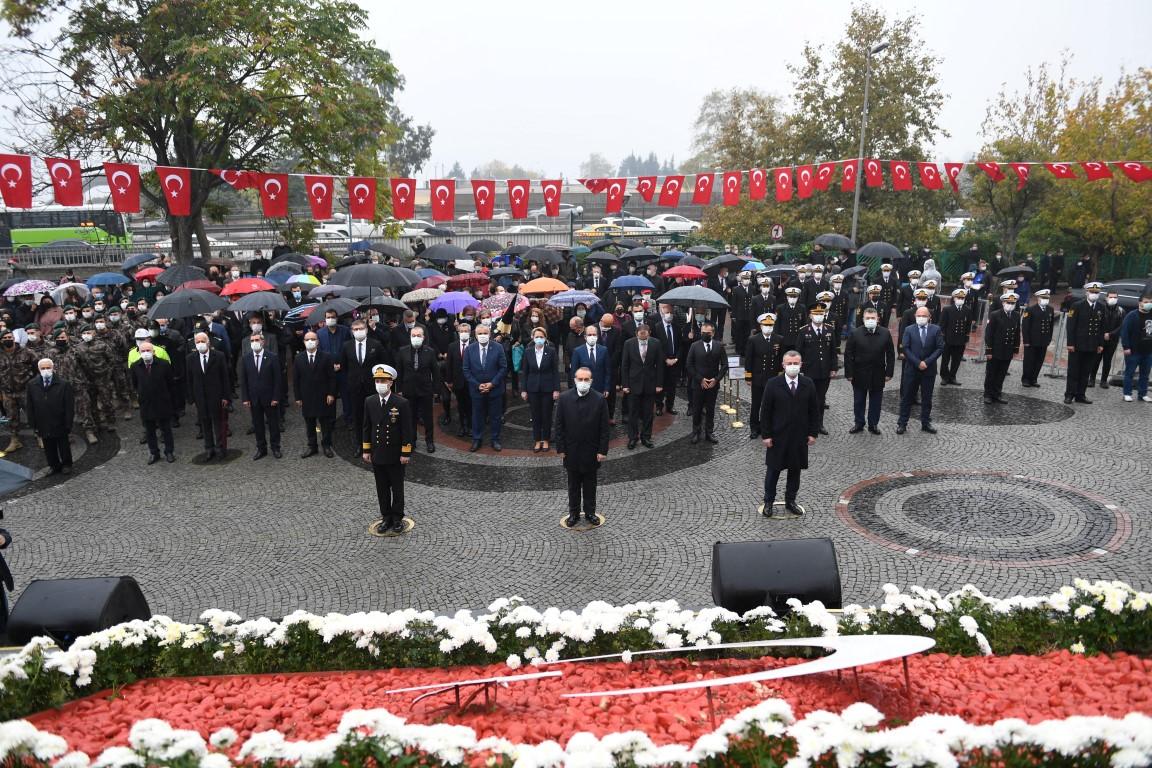 Ülkemizin Kurucusu Gazi Mustafa Kemal Atatürk, Kocaeli'de Rahmet ve Özlemle Anıldı