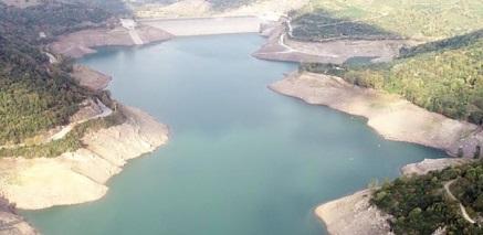 Yuvacık'ta su seviyesi yüzde 23'e indi!