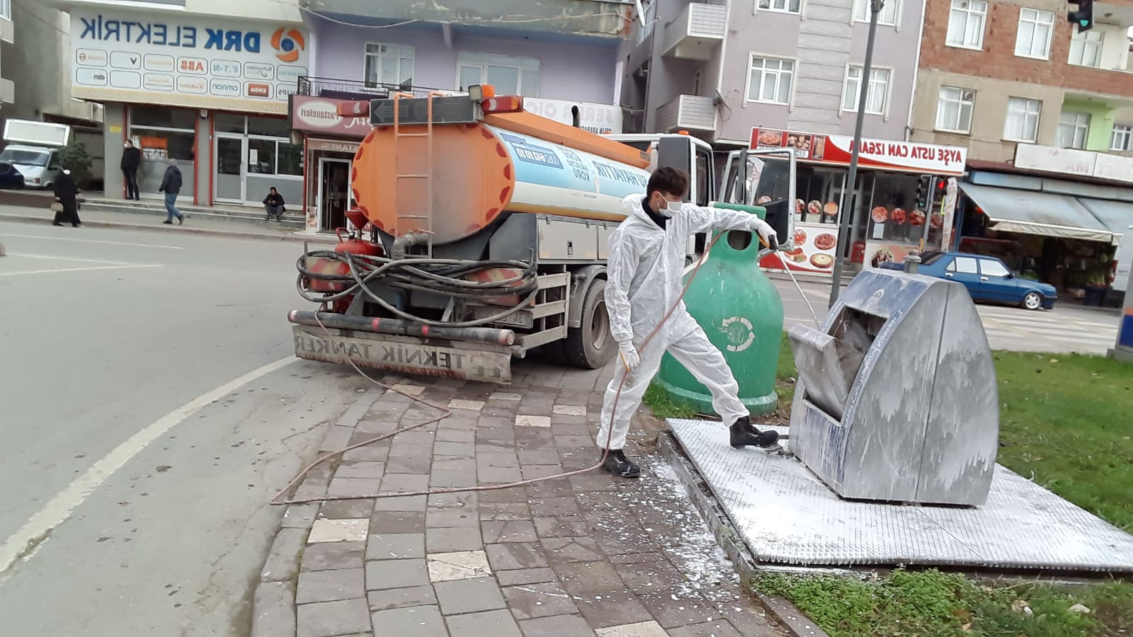 Gebze'de temizlik işleri teyakkuzda