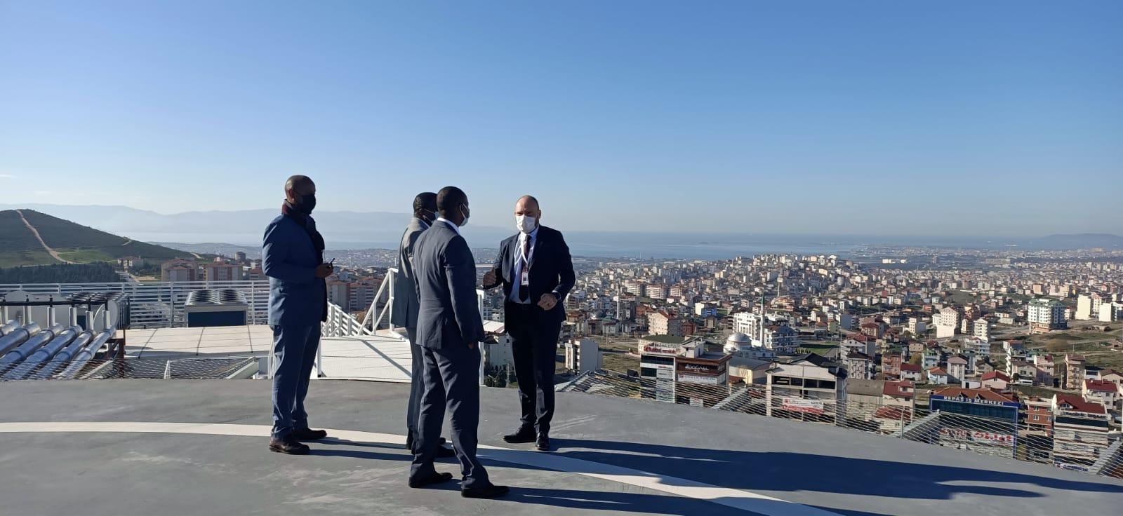 Ruanda Büyükelçisi Merkez Prime Hayran Kaldı