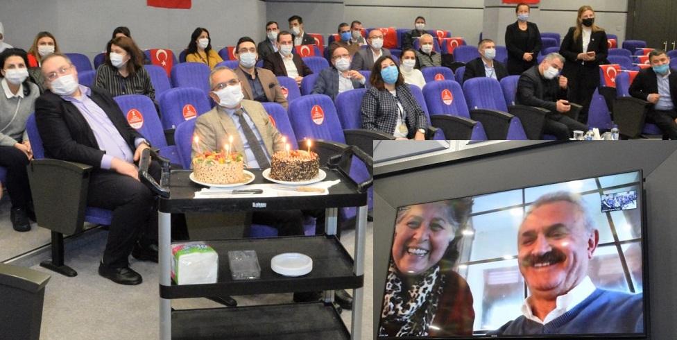 GTO'da Video konferans yoluyla Yeni Yıl ve Yaş günü Kutlaması