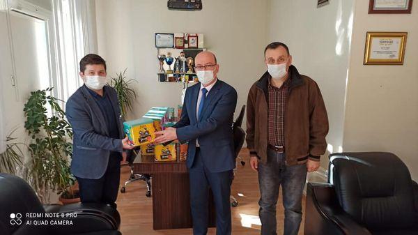 Gebze İlçe Sağlık Müdürlüğü'nden Ülker firmasına teşekkür!
