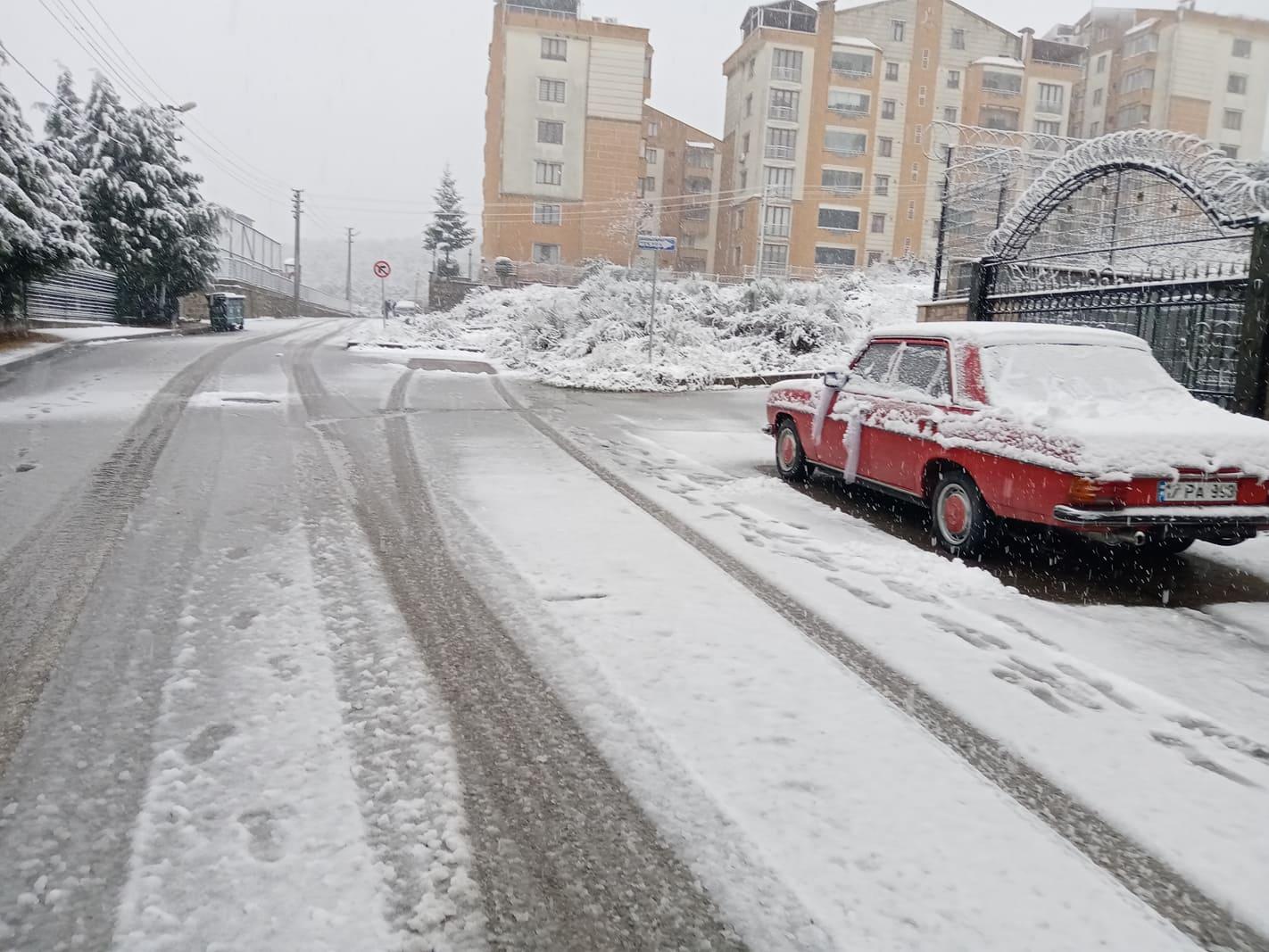 Gebze'de kar sonrası günlük hayat…