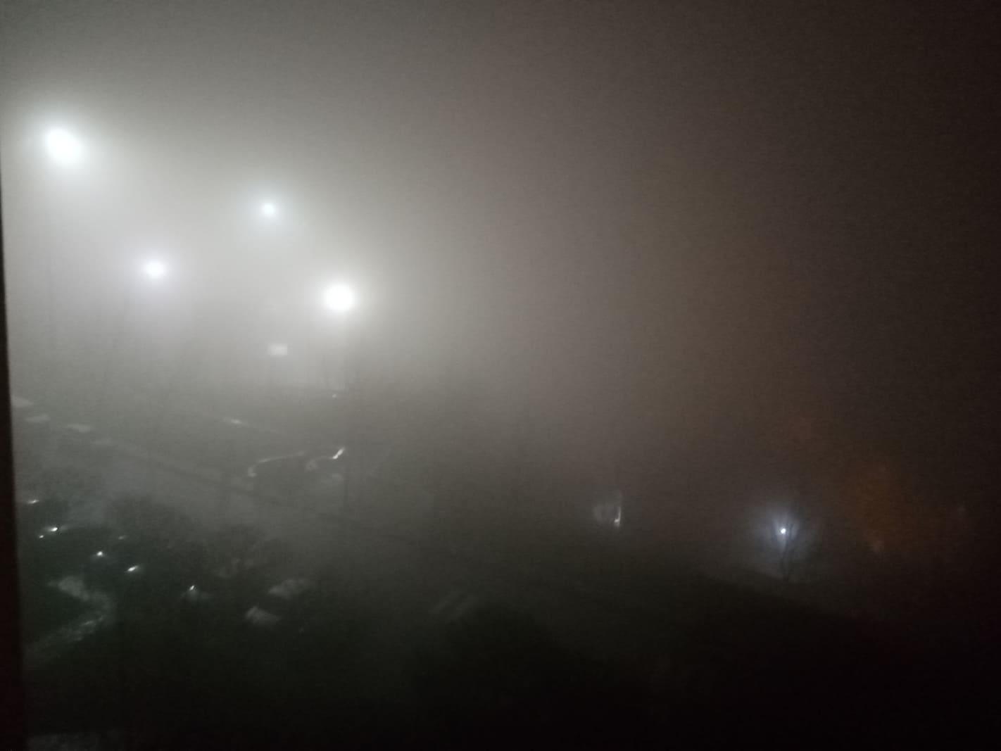 Dikkat! Gebze'de zaman zaman yoğun sis ve yağmur etkili oluyor!