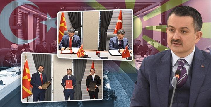 Türkiye İle Makedonya Arasında Tarımsal Birlik