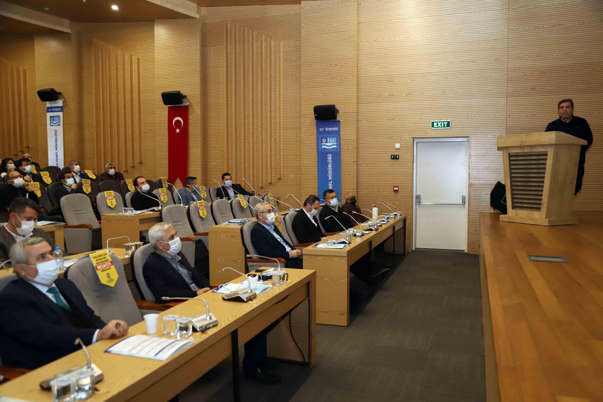 İSU 2020 yılı değerlendirme toplantısı yapıldı