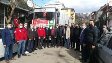Giresunlular, Gebze Beylikbağı'nda Darıca Kızılay'a kan bağışladılar