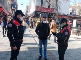 Polisten Çarşı'da GBT Uygulaması