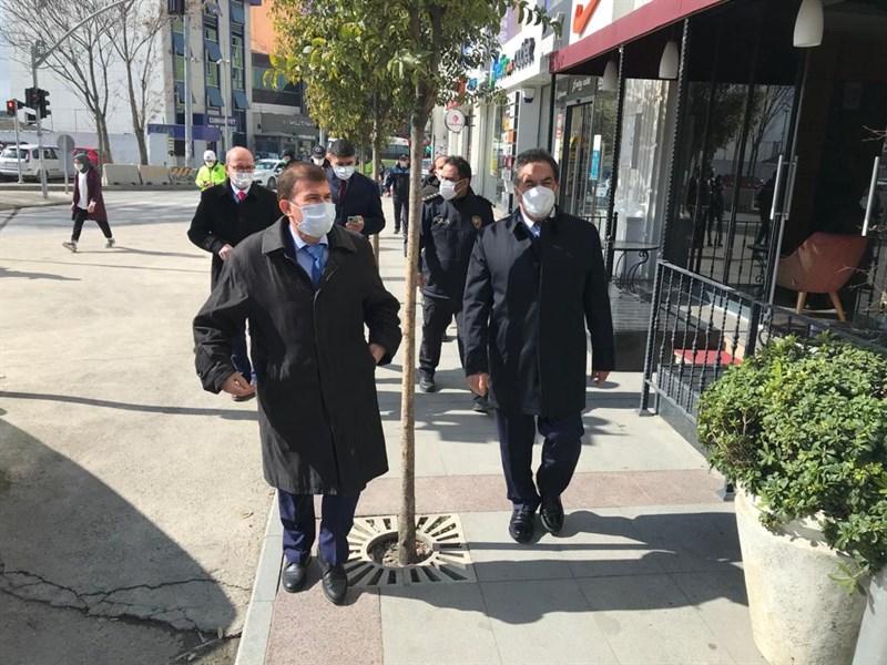 Vali Yardımcısı Ulusoy, Kaymakam Güler ile Denetimlere Katıldı