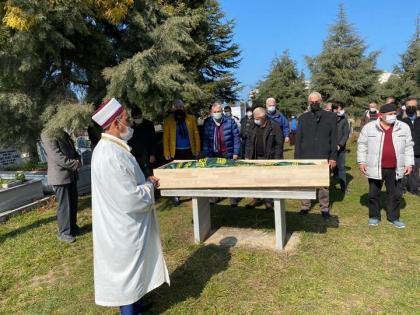 Mustafa Kaya toprağa verildi