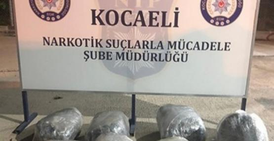Kocaeli'de 494 kişi uyuşturucudan yakalandı