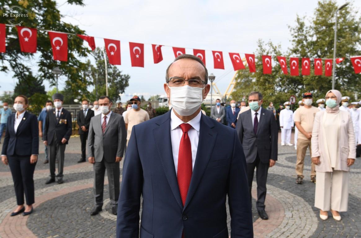 """Vali Yavuz: """"Büyük Milletlerin, Büyük Zaferleri Olur"""""""
