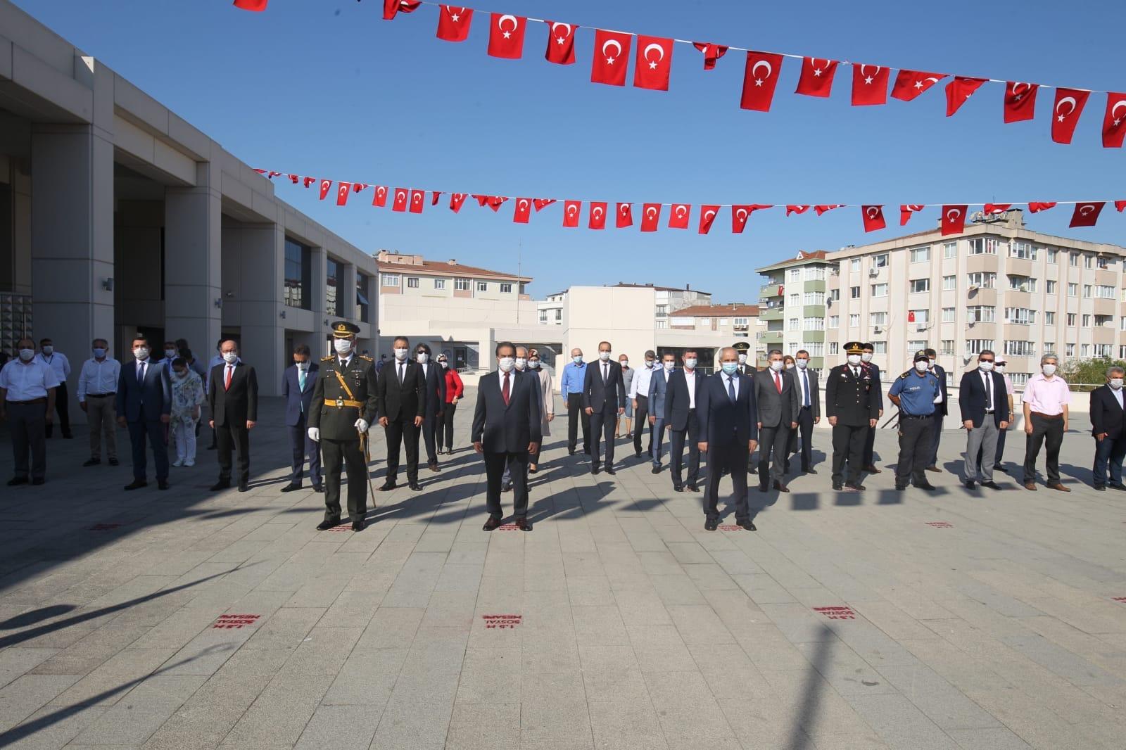 Gebze'de 30 Ağustos Zafer Bayramı törenleri