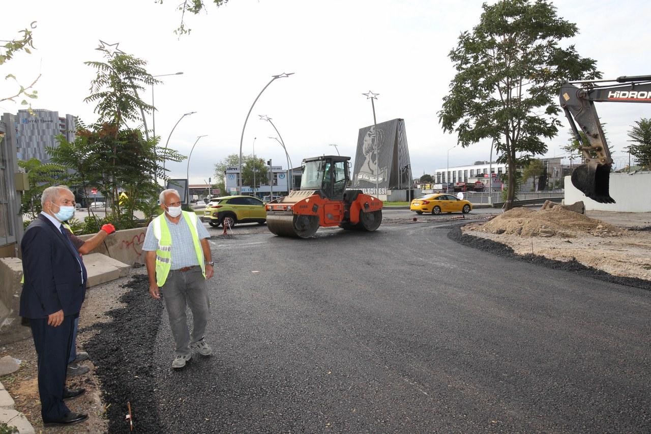 Gebze'de trafiğinde Gebze'ye yeni bir giriş kazandırılıyor