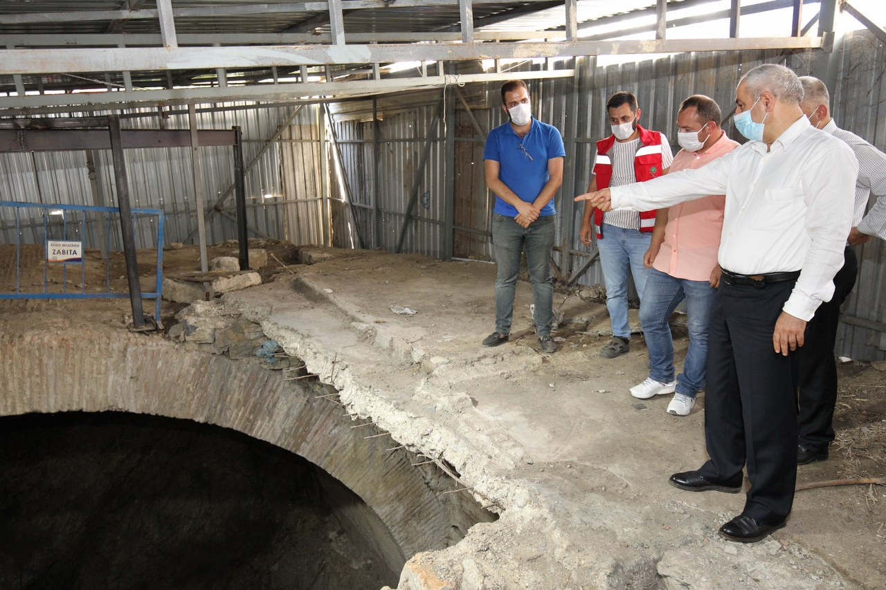 Kaç yıl sonra Nihayet! Gebze'de Tarihi Sarnıç Restore Ediliyor