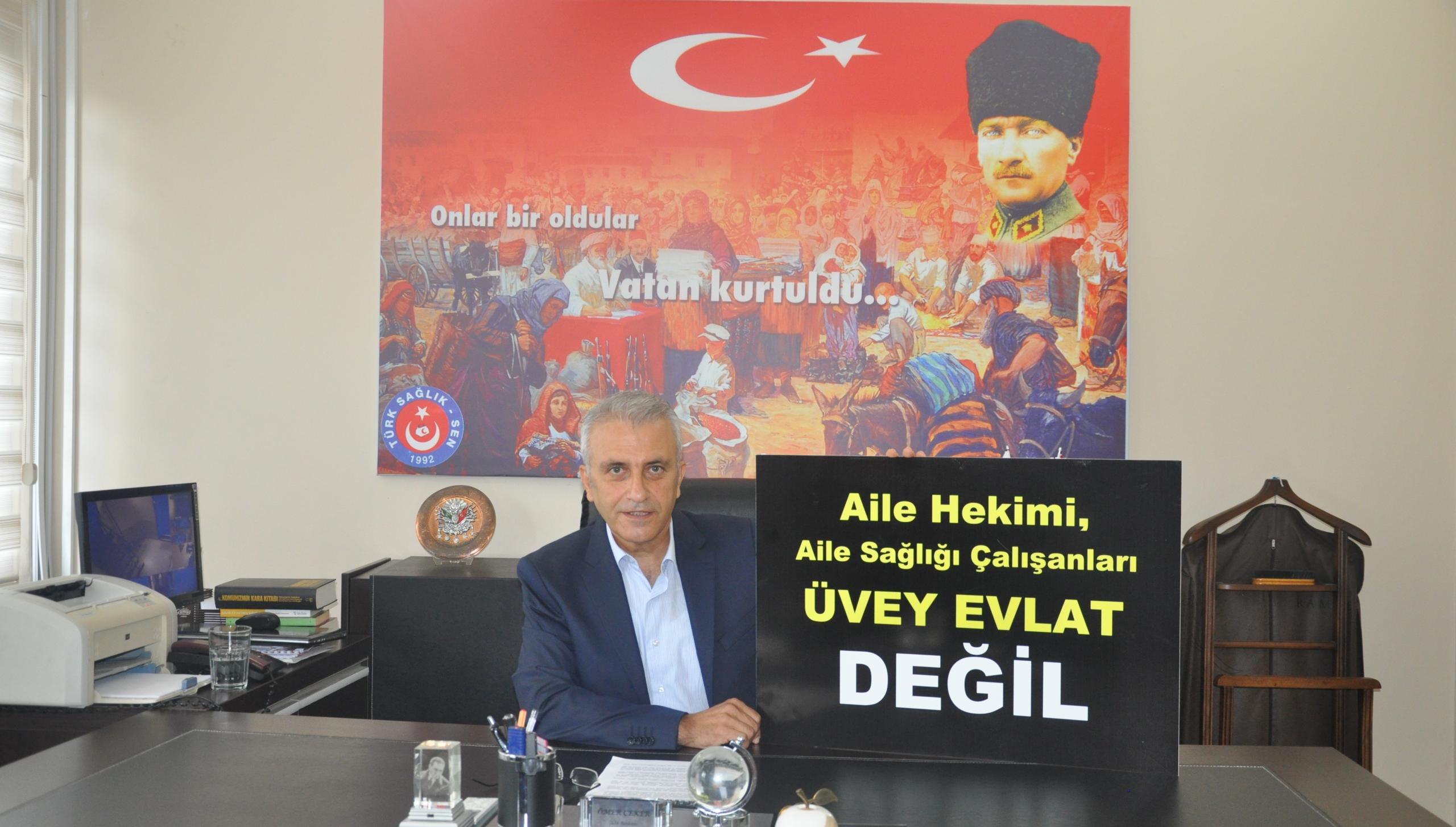 """ÇEKER: """"ADALET EŞİT DAĞITILMALI!"""