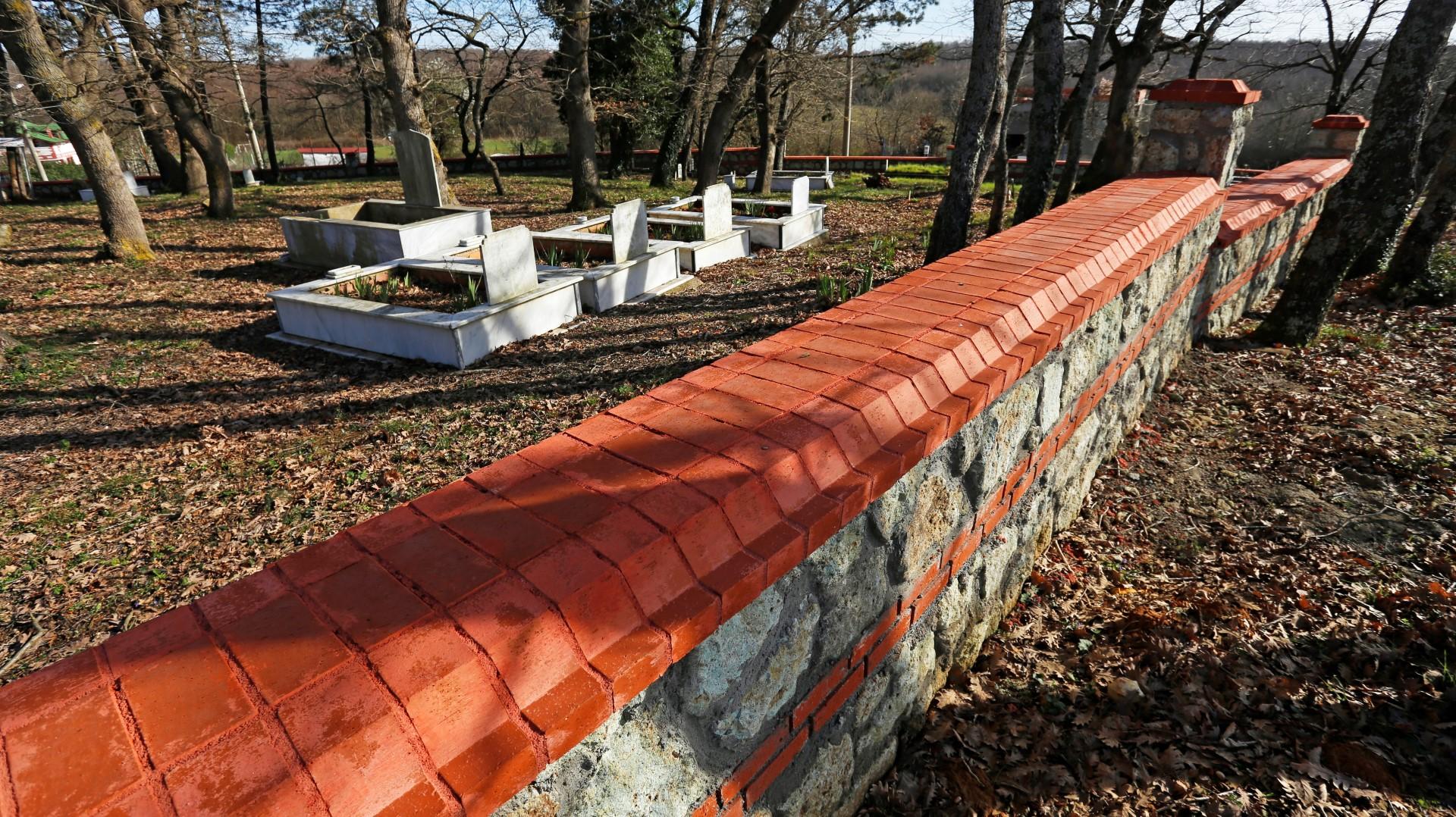 Mezarlıkların çevre düzenlemesi için ihale yapıldı