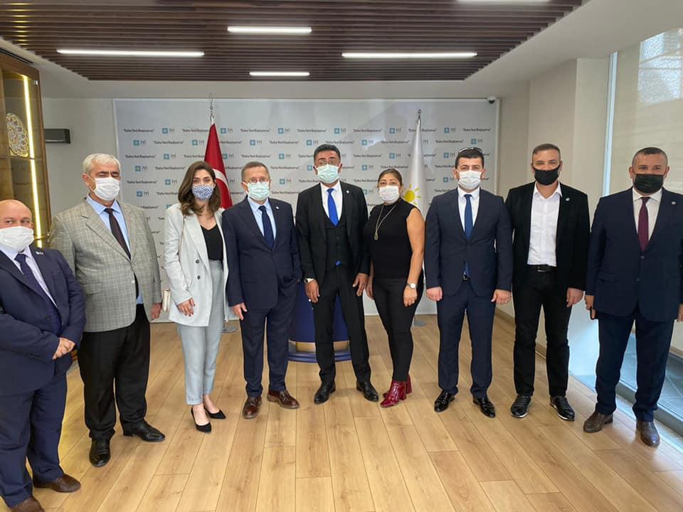 Türkkan, İYİ Parti Kocaeli Heyetini ağırladı