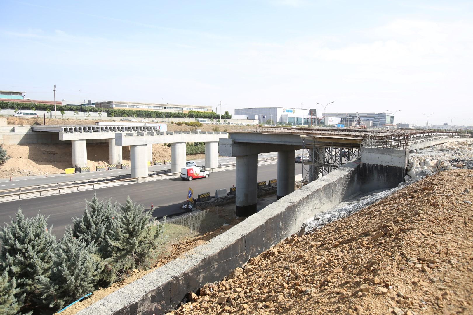Gebze Yumrukkaya-Kirazpınar arasına 4 köprü inşa ediliyor