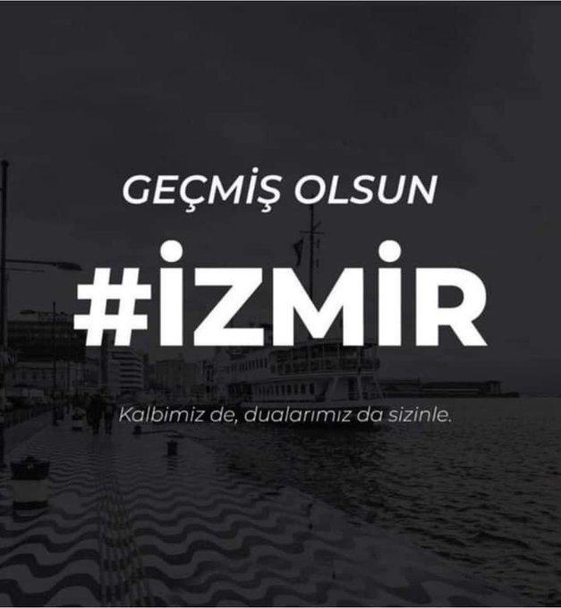 12 vatandaşımız deprem kurbanı! Kalbimiz ve Yüreğimiz İzmir'de!