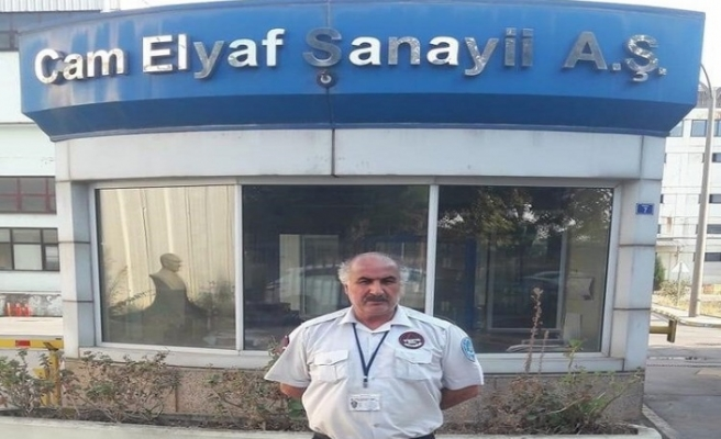 Gürsel Ercan, 32 yıllık işine veda etti