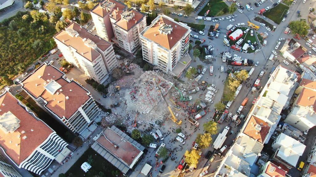 GTÜ, İzmir Depremini Araştırıyor