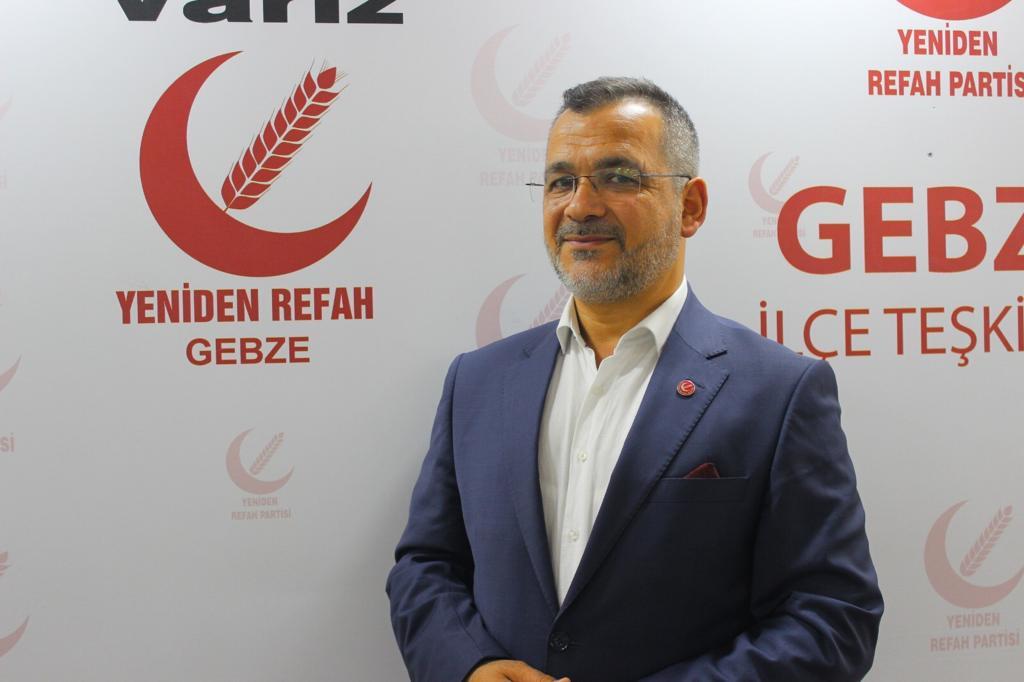 """Gebze Yeniden Refah Partisi: """"Atatürk, tam bağımsız bir ülke, millet olmamız için adımlar atmıştır!"""""""