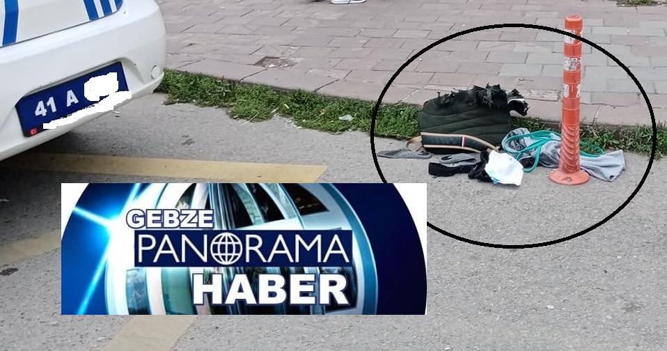 Gebze'de unutulan çanta bomba sanılınca trafik kapatıldı!