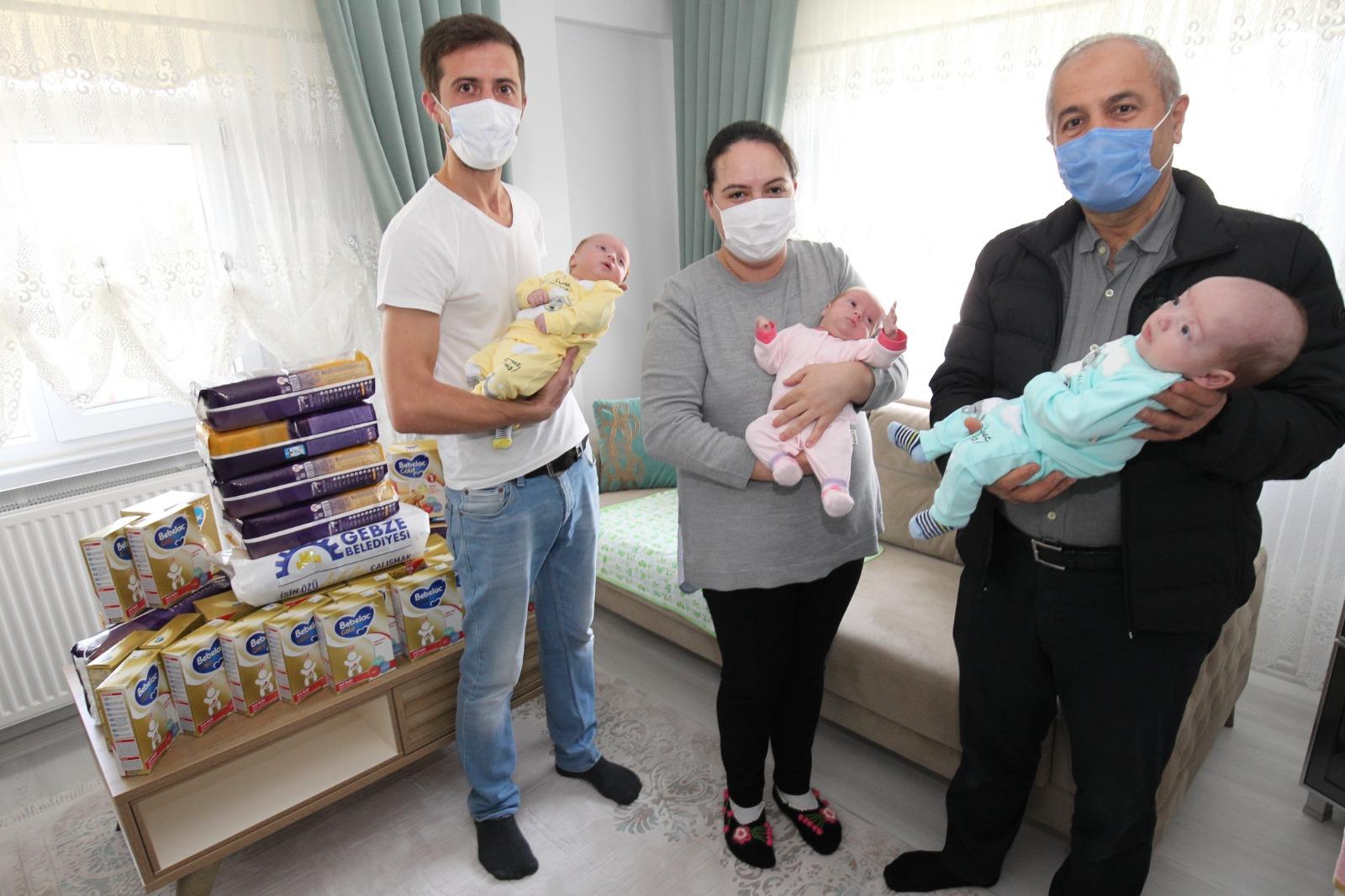 Başkan Büyükgöz, Üçüz Bebekleri Ziyaret Etti