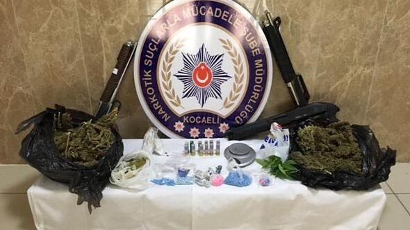 Kocaeli'de uyuşturucu operasyonu: 49 olayda 91 kişi yakalandı, 16 kişi tutuklandı
