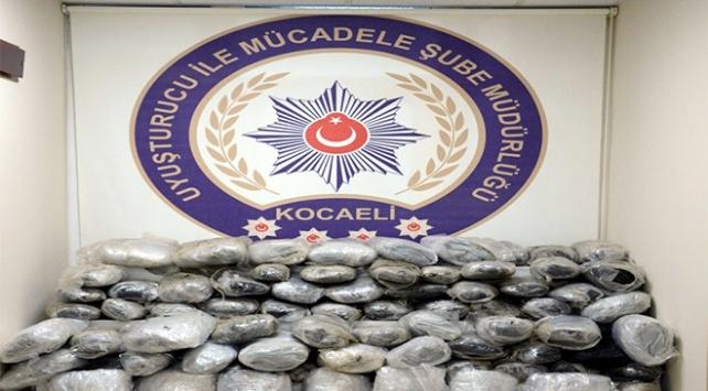 Kocaeli'de uyuşturucu ile mücadelede bir aylık bilanço açıklandı