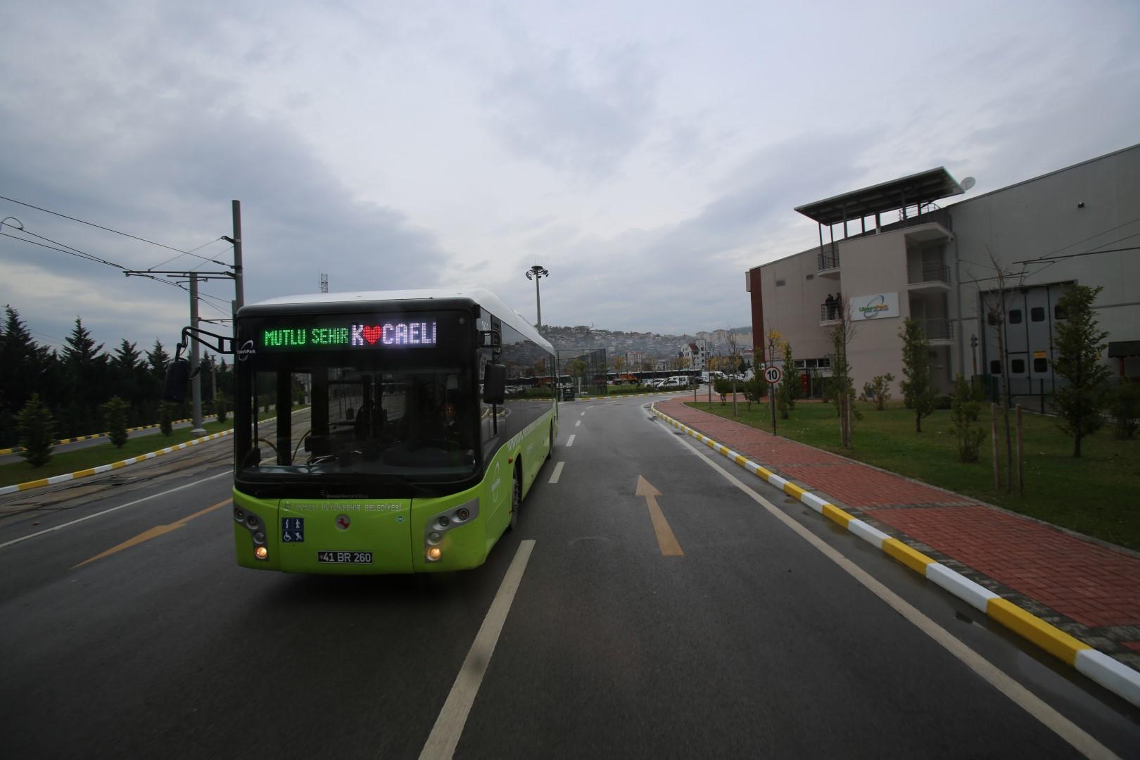 Kocaeli'de toplu taşımada hafta sonu düzenlemesi