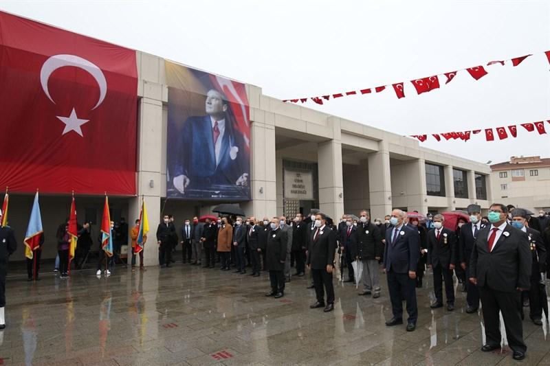 Ulu Önder Atatürk, Gebze'de törenlerle anıldı