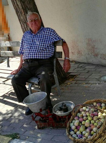 Tavşancıl'ın yaşlılarından Ahmet Amca vefat etti