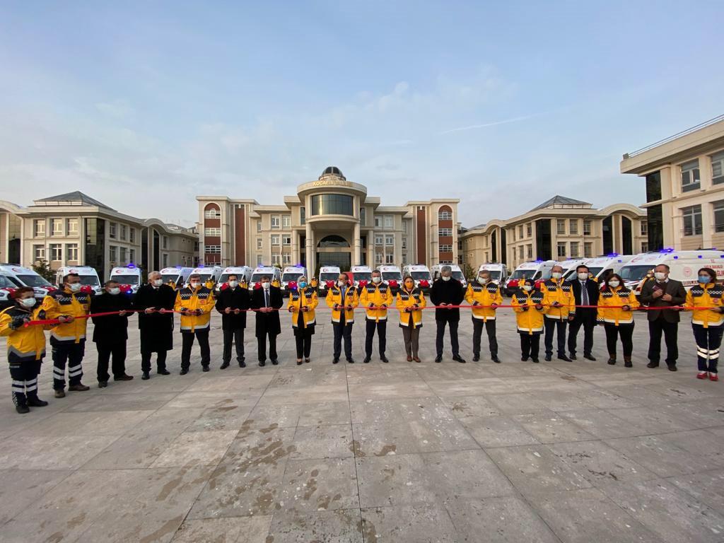 Sağlık Hizmetlerine 30 Yeni Ambulans Katıldı