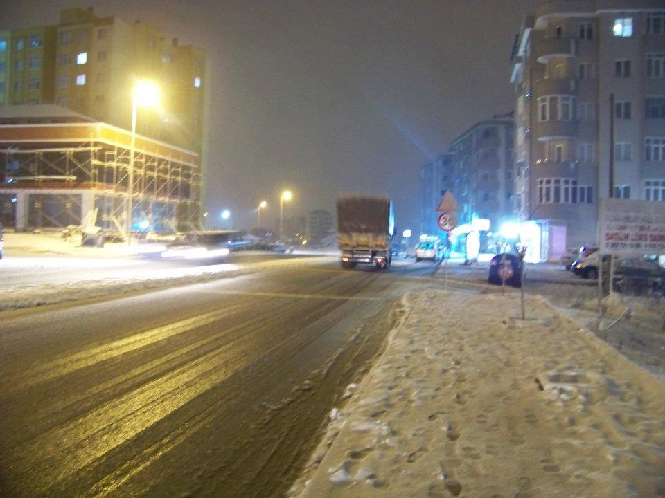 Bu gece yarısı kar yağma ihtimali var!