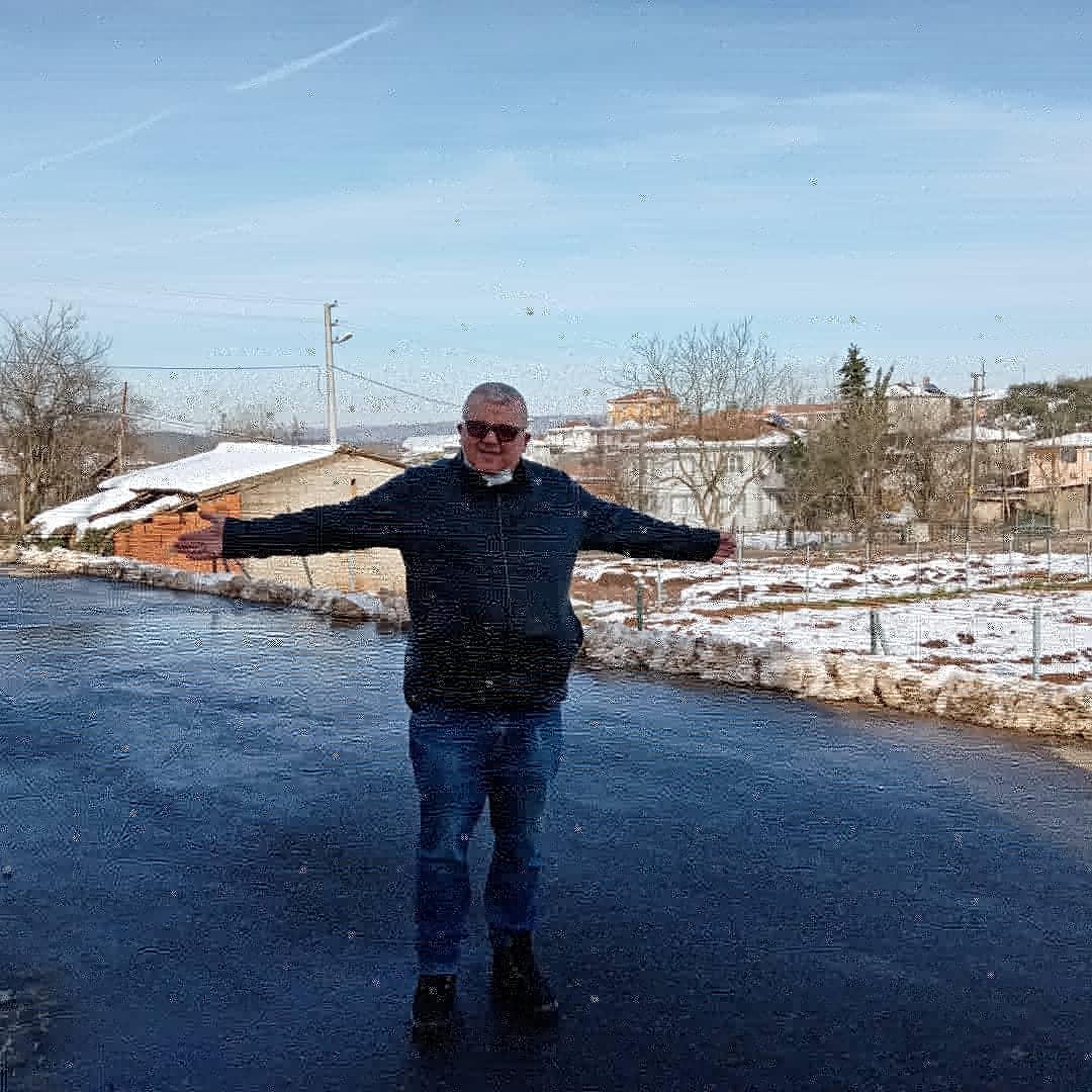 Köylerde kar bereketi sevinci