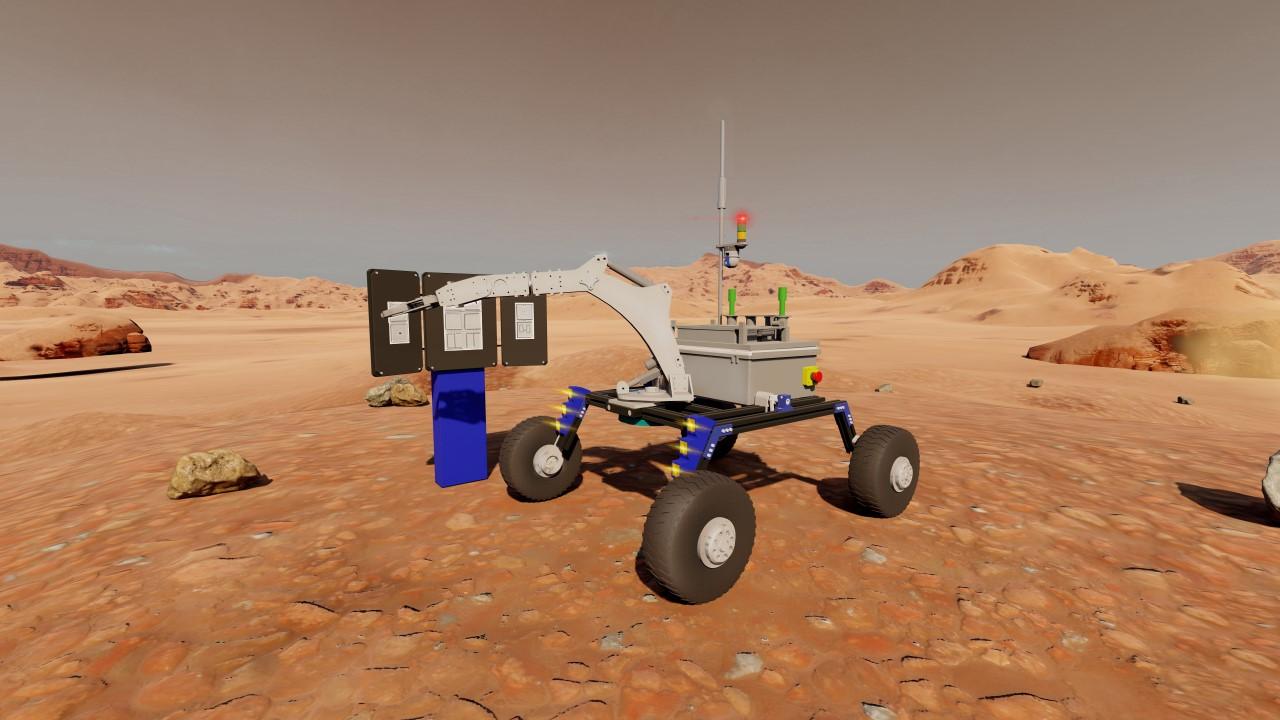 GTÜ, Polonya'da on-line yapılacak Rover Yarışmasına Hazırlanıyor