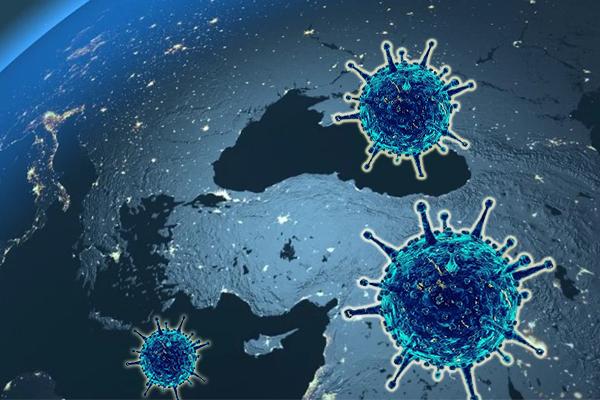 Koronavirüs salgınında vaka sayısı 61 bin 400'e ulaştı