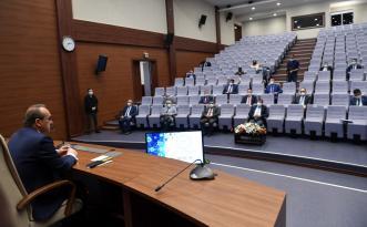 Valilik'te Pandemi Değerlendirme ve İstişare Toplantısı