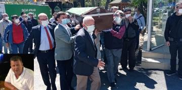 Vefat eden Eski Şekerpınar Belediye Başkanı Ali Sönmez defnedildi