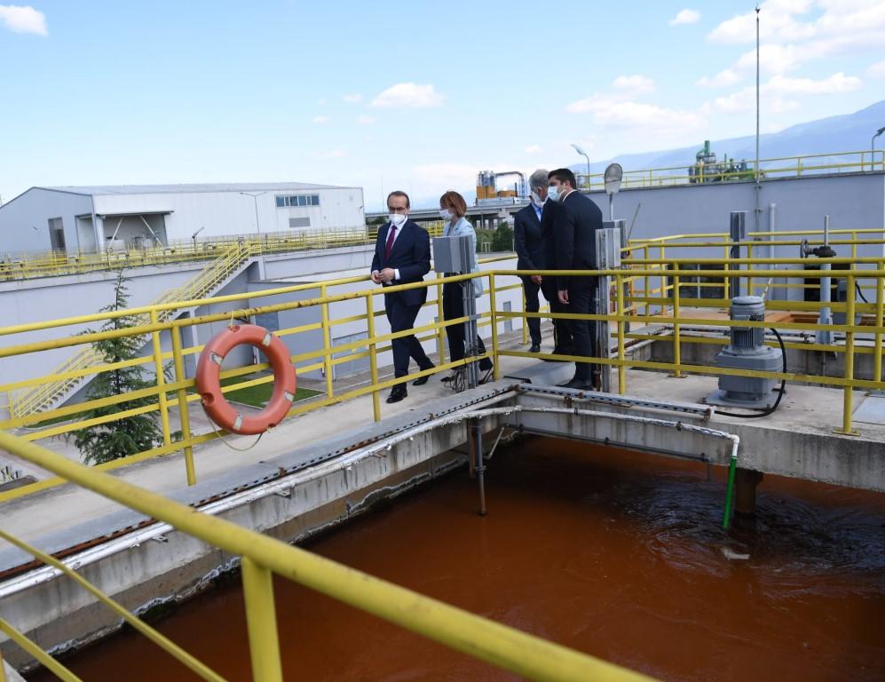 Vali Yavuz arıtma tesisi inceledi