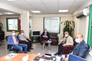 Vali Yavuz Dilovası OSB'yi gezdi, bilgi aldı