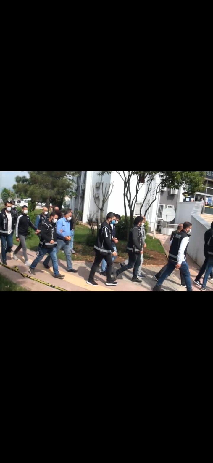 Silah kaçakçılığından 22 kişi gözaltına alındı