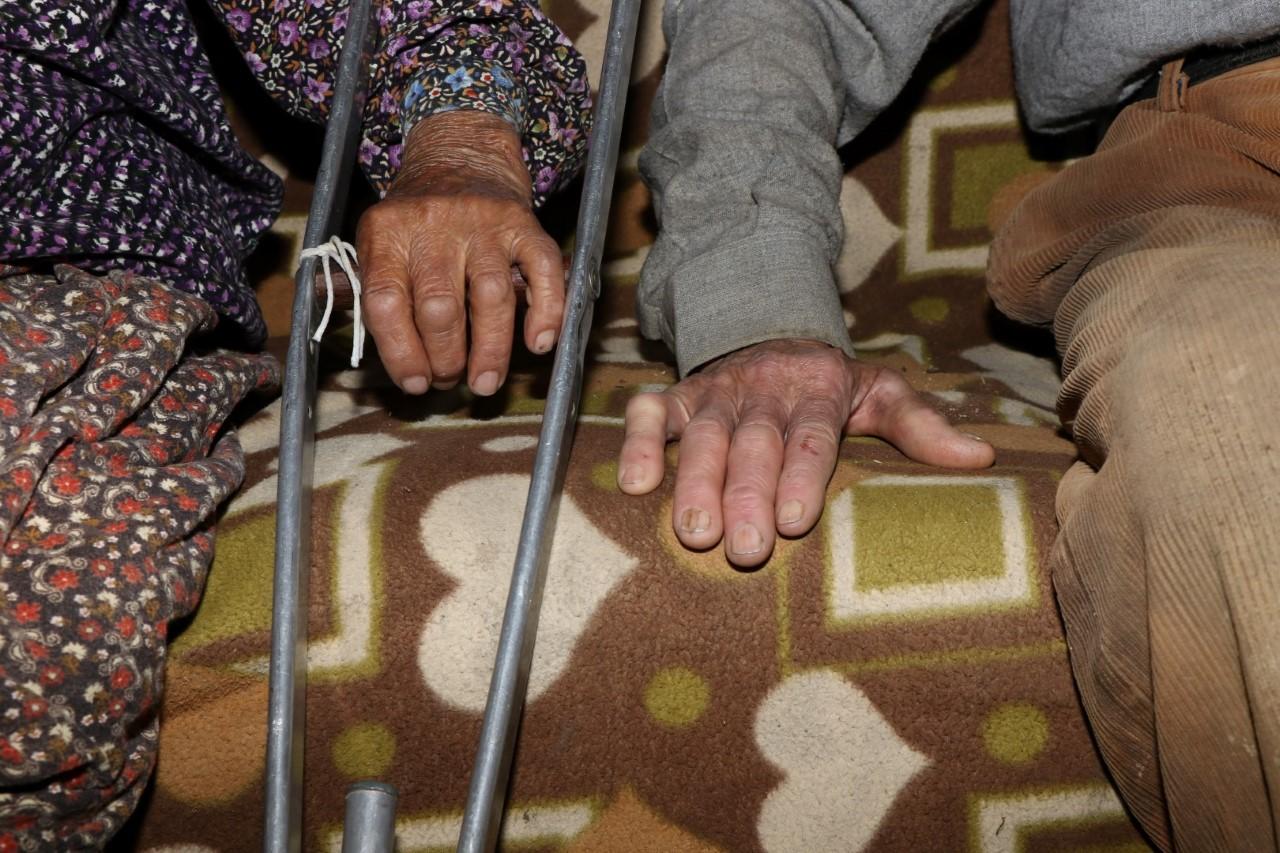 Kandıralı yaşlı çiftin yardımına Büyükşehir koştu