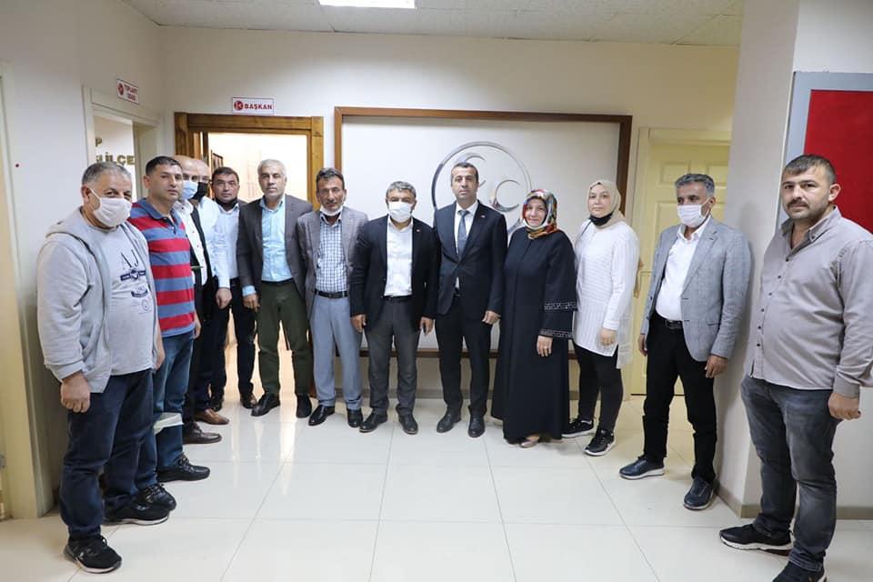 Şayir'den MHP'ye hayırlı olsun ziyareti