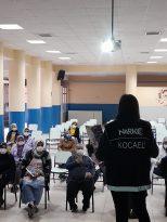 Çayırova'da 65 anneye UYUMA ve KADES uygulamaları eğitimi verildi