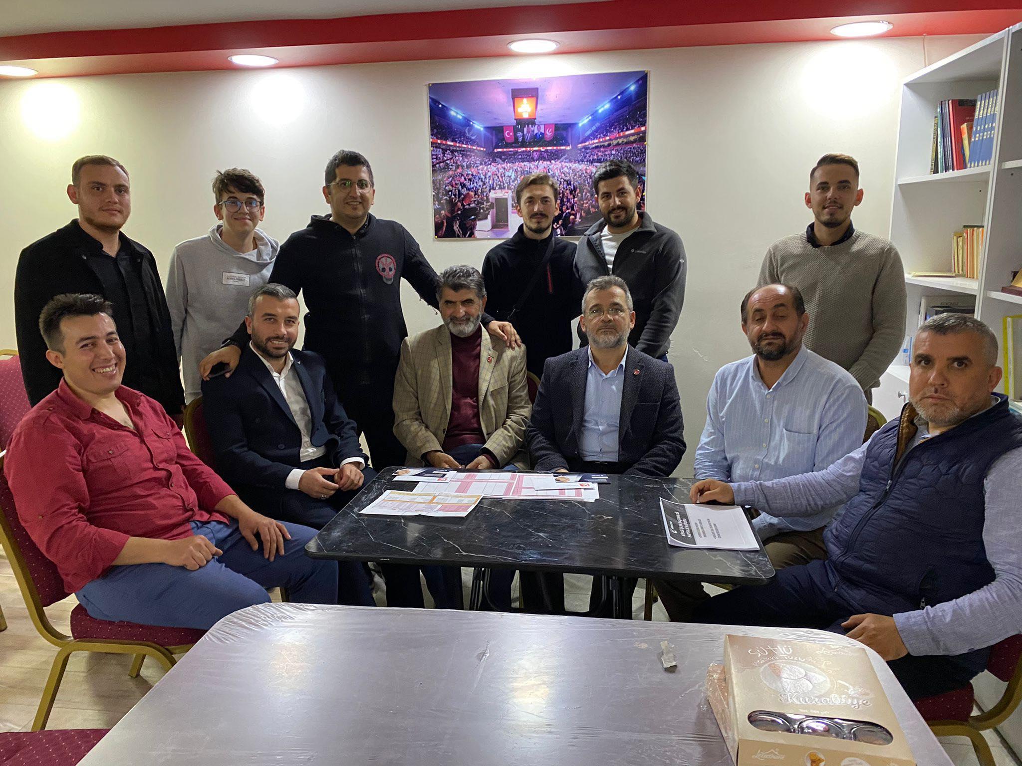 Gebze Yeniden Refaph Partisi, Erbakan Hazırlığı toplantısı yaptı